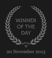 CSS Winner of the day